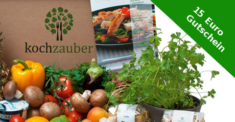Kochzauber – Die Abo Box mit Essen und frischen Rezepten