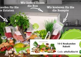 Hellofresh Erfahrungen und Test zum Lebensmittelabo von Hellofresh