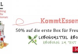 Wir stellen vor KommtEssen.de | 50% sparen!