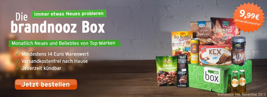 Brandnooz Box Gutschein